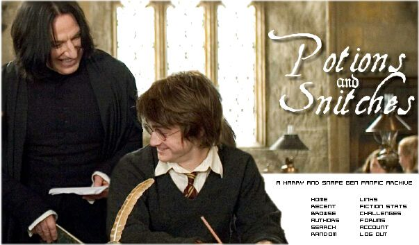 Potions and Snitches :: Snape and Harry Gen Fanfiction Archive